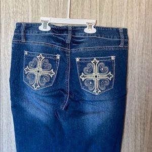 Hydraulic Jeans - Medium wash bootcut jeans